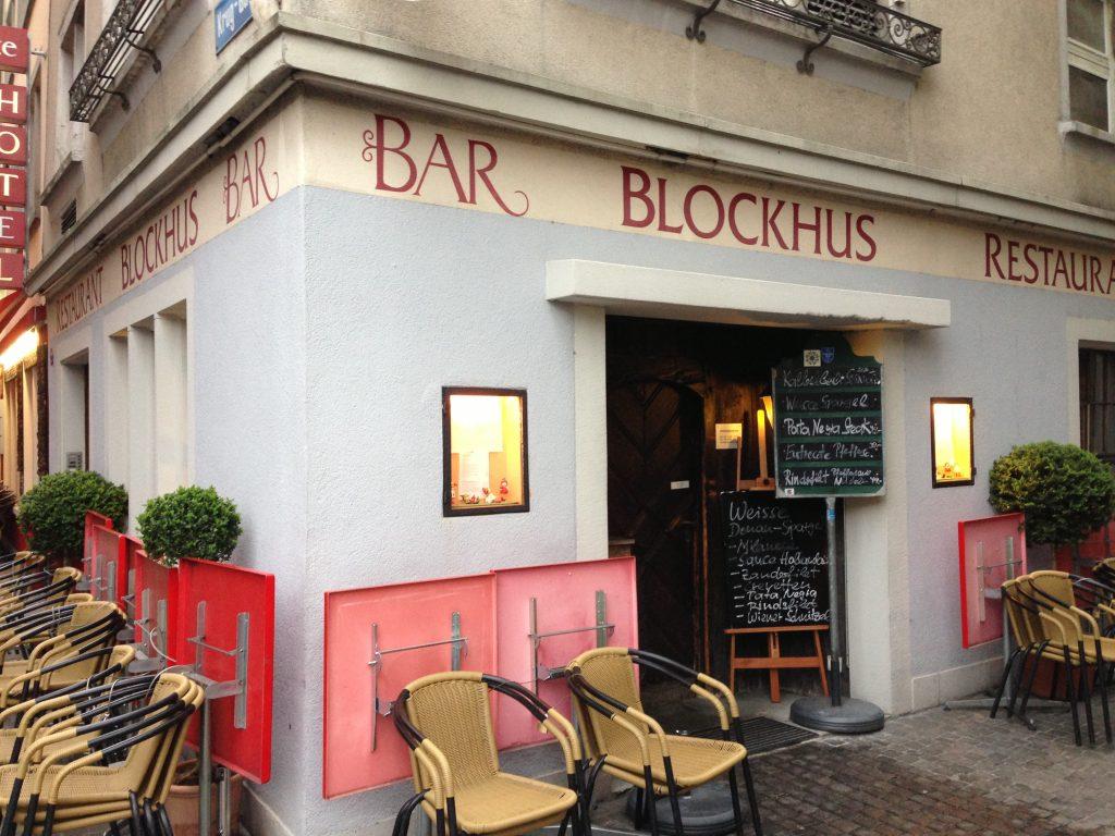 restaurant blockhus z rich. Black Bedroom Furniture Sets. Home Design Ideas
